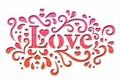 MOLLY&REX バレンタインスモールグリーティングカード <LOVE×ハート>