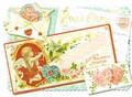 PUNCH STUDIO バレンタイングリーティングカード(3Dレイヤー) <ハート×天使>