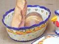 【ポルトガル製】オーバルボウル【バルセロスのニワトリ】陶器製バスケット 鉢