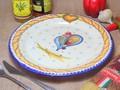 【ポルトガル製】ディナープレート 【バルセロスのニワトリ】手描き 丸皿 31cm