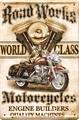 アンティークメタルプレート S [MOTORCYCLES]