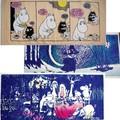 【北欧雑貨Moomin】ムーミンミニタオル 「春の夜」「夜の宴」「ムーミンとスティンキーの日」