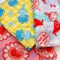 【北欧雑貨Moomin】3重ガーゼハンカチ2014春新作 リトルミイ