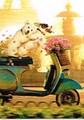 AVANTI PRESS バレンタインカード <犬×バイク>