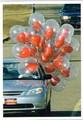 PALM PRESS バレンタインカード <車×ハートの風船>