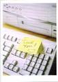 PALM PRESS バレンタインカード <キーボード×ハートのメッセージ>