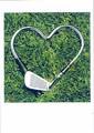 PALM PRESS バレンタインカード <ゴルフ×ハート>