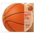 【スポーツ好きなあの人へ】カラー色紙 丸形 バスケットボール柄