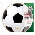 【スポーツ好きなあの人へ】カラー色紙 丸形 サッカーボール柄