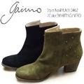 ☆即納☆ GAIMO【ガイモ】YUMA 0462 ブーツ ショート スタッズ スウェード