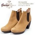 ☆即納☆ GAIMO【ガイモ】 ALLISON 392 ブーツ ショート スエードレザー サイドゴア