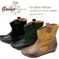 ☆即納☆ GAIMO【ガイモ】 OPERA CREPELINA 0517 ブーツ ショート インヒール タッセル