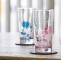 ◆SALE◆ ガラス ペアタンブラー プランツプランツ ◇BOX入◇/【日本製】花柄/ギフト