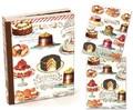 ミッシェルデザインワークス ブック型ボックス入りグリーティングカード【デザート】
