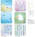 たおるはんかち「日本の野鳥」シリーズ<タオル・ハンカチ・景品・ノベルティ・鳥・和柄・日本製・小物>