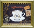 モルガン ヤマダ アートフレーム【モダンアート】コーヒー/カフェ<樹脂フレーム>
