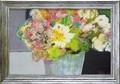 レスリー バーンセン アートフレーム【アメリカ作家】花/フラワー柄<樹脂フレーム>