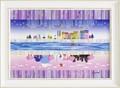 なかのまりの アート フレーム【日本】人気イラスト<樹脂フレーム>