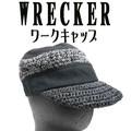 【WRECKER】 クレイジーボーダーペーパーキャップ 6653