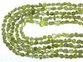 【天然石カットビーズ】ペリドット (3A) タンブルカット 約4×6mm (数量限定商品) 天然石