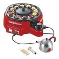<キッチン><卓上調理家電>自動タコ焼器 トントン KS-2614