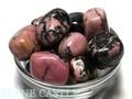 【天然石置き石】タンブル型 (小) ロードナイト 1kg【天然石 パワーストーン】
