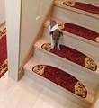 【直送可】階段キズ防止 ペットにも 階段敷マット「リーガ」約23×65cm(14枚セット)