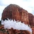 天然石 最高品質 Extra アーカンソー産水晶クラスター原石鉱物【FOREST 天然石 パワーストーン】