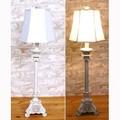ロココ調家具【-ビュッフェランプ(三角台)-】間接照明/インテリアランプ/卓上ランプ