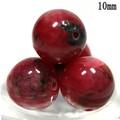 【天然石丸ビーズ】インペリアルロードナイト (3A) 1粒売り【天然石 パワーストーン】