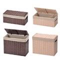 トイレタリー ペーパーバスケット(Kishimen Paper Box Basket)2サイズ・2色 -1050