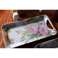creative tops LUXURY HANDLED TRAYS  トレイ <バラ×フラワー>