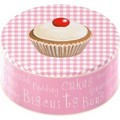 creative tops ケーキティンボックス カップケーキモチーフ ワンサイズ 収納丸缶
