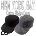 NEWYORK HAT	#6082 Cotton Stripe Camp  11852