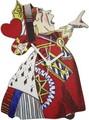 ◆英アソート対象商品◆【英国雑貨】Lark Rise Designs 時計 不思議の国のアリス Queen of Hearts