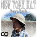 NEWYORK HAT #3095 CANVAS TENNIS 13495