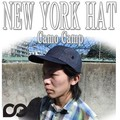 NEWYORK HAT#6026 DENIM CAMP 15226