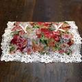 細かい織りのピンク・ゴブラン|ティッシュボックスカバー MULT 12×26×6