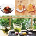 【てびねり】日本製 ロングセラーやわらかな表情のガラス器 小付け&深鉢&小鉢