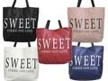 【値下げ】スィート 合皮トートバッグ♪♪