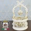 ★決算特価★イタリア陶器|Italia SONDA カプディモンテ 陶花金薔薇のWELL POT