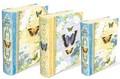 PUNCH STUDIO  BOOKBOX ラージシリーズ <蝶×フラワー> パンチスタジオ