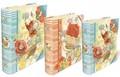 PUNCH STUDIO  BOOKBOX ラージシリーズ <鳥×フラワー> パンチスタジオ