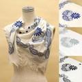 コットン刺繍スカーフ