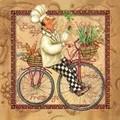 Maki ペーパーナプキン <コック×自転車>