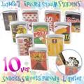 【10種】パロディお菓子オイルライター パッケージパロディ たばこ 煙草 喫煙 ジッポ型