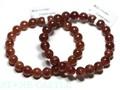 ☆高品質☆【天然石ブレスレット】ストロベリークォーツ (2A) (南アフリカ産) (約11〜11.5mm) 天然石