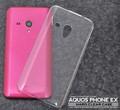 <オリジナル商品製作用>AQUOS PHONE EX SH-02F(アクオスフォン)用ハードクリアケース