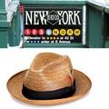 ★春夏♪ NEWYORK HAT #2132 COCONUT FEDORA 14711