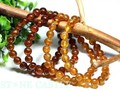 ☆高品質☆【天然石ブレスレット】オレンジガーネット (2A) (約7mm)【天然石 パワーストーン】